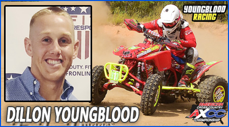 Dillon Youngblood Pro ATV Racer