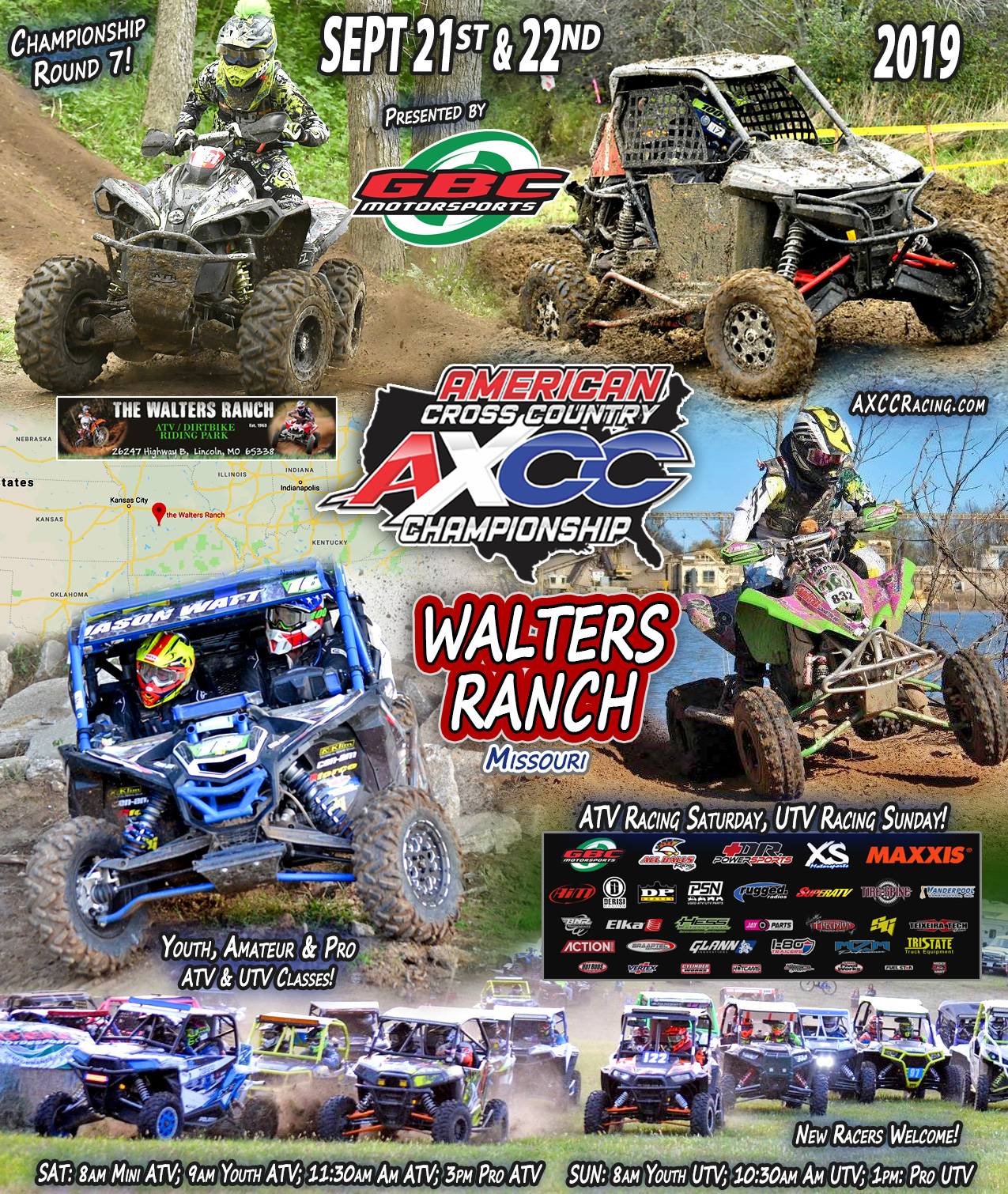Walters Ranch Missouri race AXCC round 7